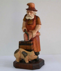 statues of wood figurines, wood carvings from linden wood sculpture 